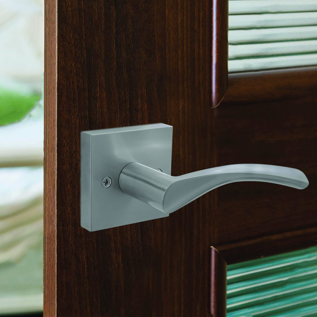 Locks expand contemporary look with new knob, lever