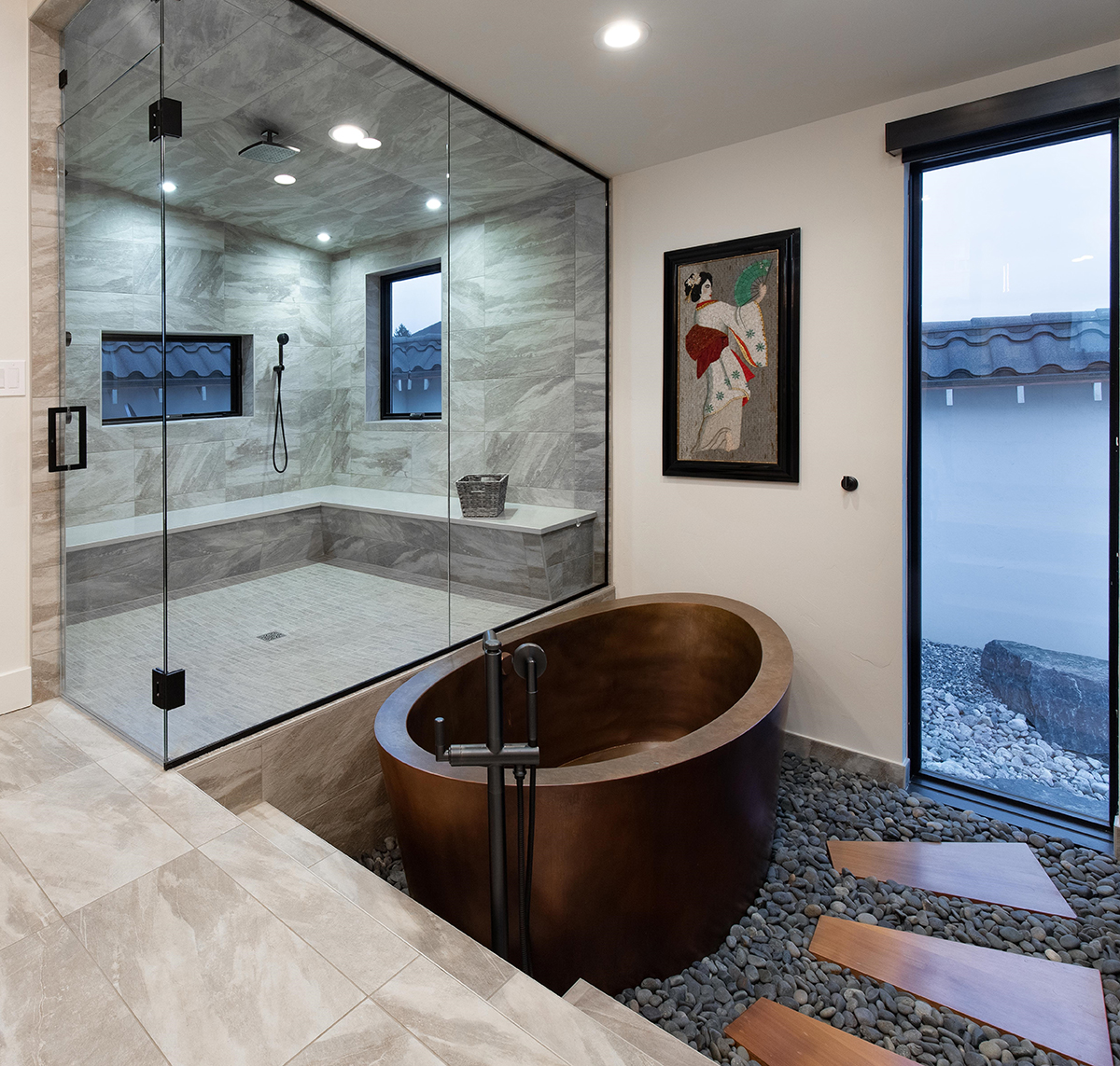 Zen Master Bathroom