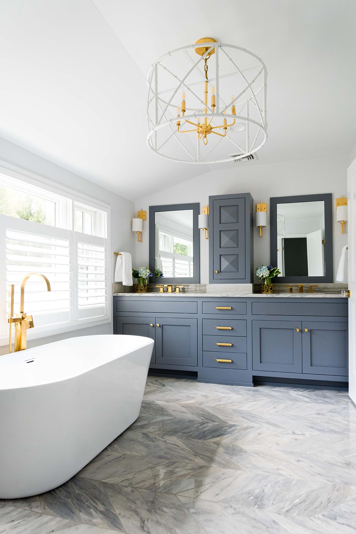 Textured Transitional Bath
