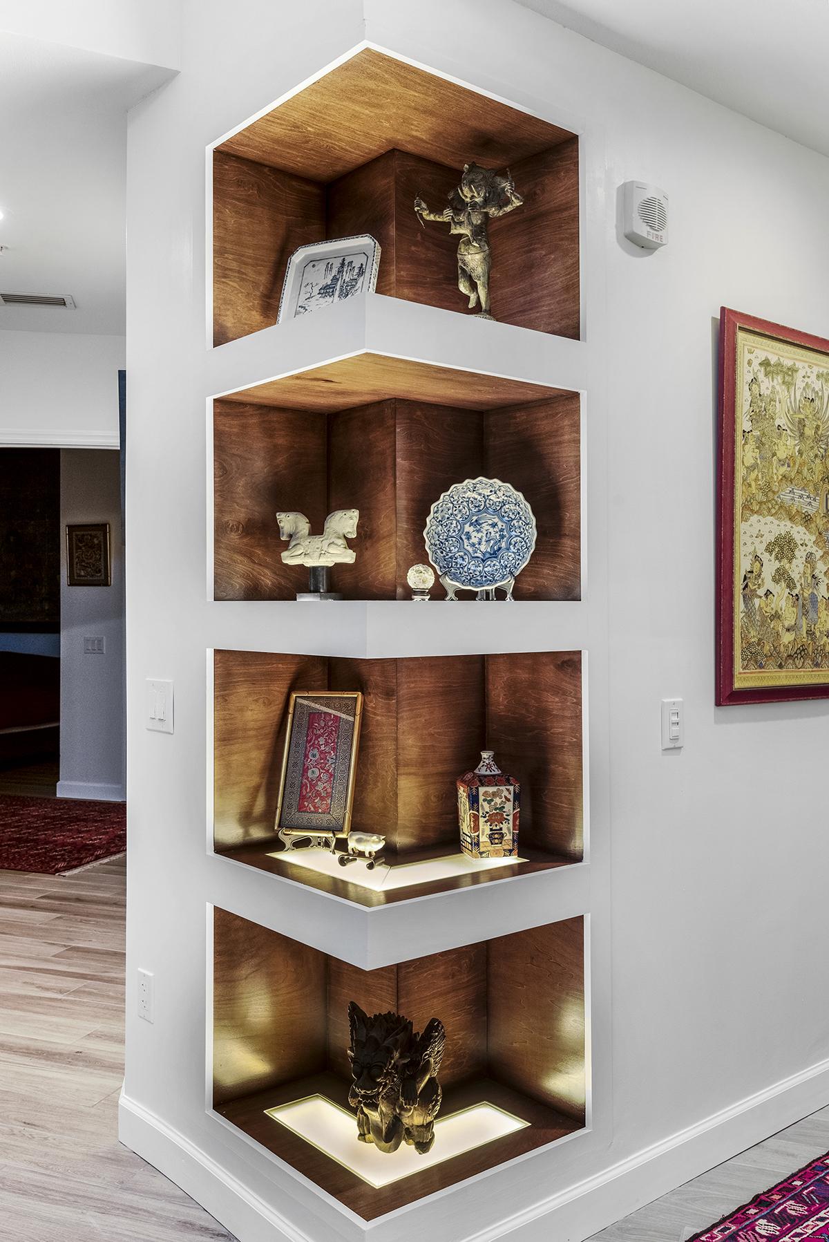 Asian Inspired Dining-Living Room