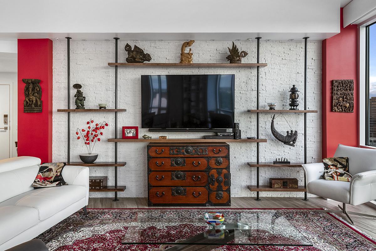 Asian Inspired Living Room 2019 master design awards: residential interior less than