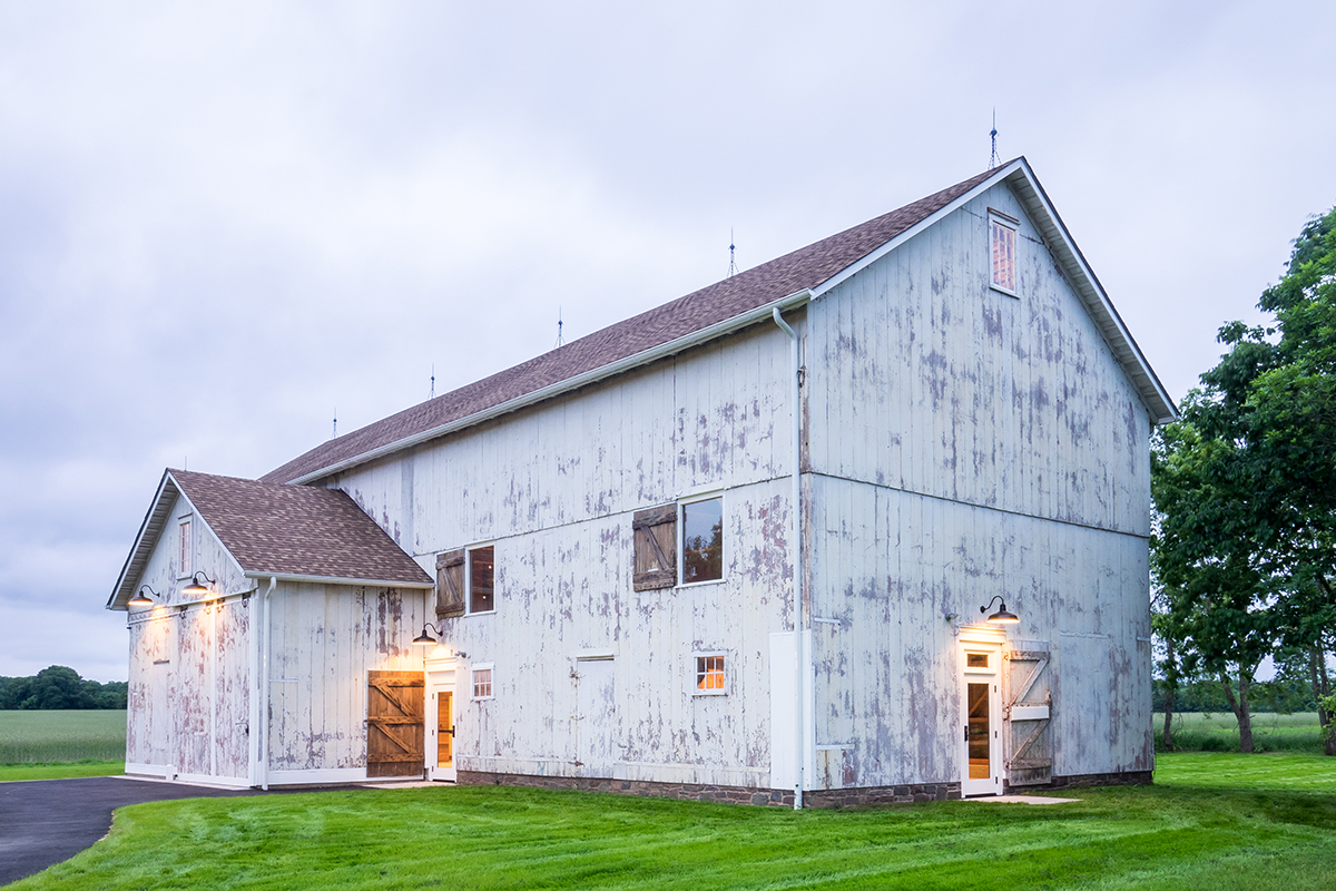 An Old Barn Gets New Life