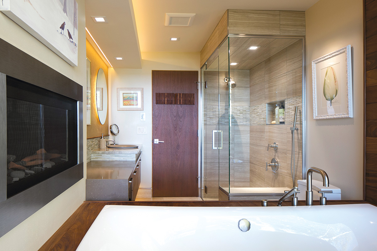 Mid Century Master Bath Gets Refresh Kitchen Bath Design