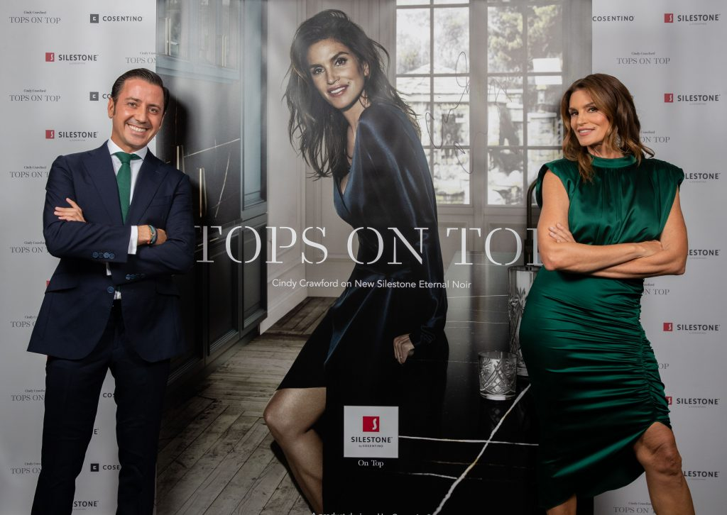 Silestone Unveils New Cindy Crawford Ad Campaign