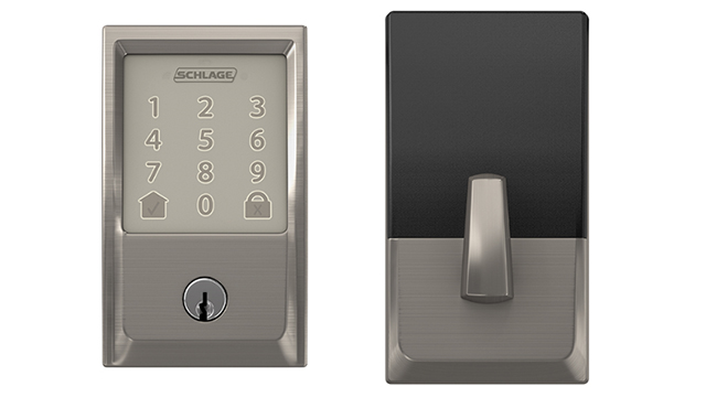 Smart Wi-Fi deadbolt connects to home from virtually anywhere