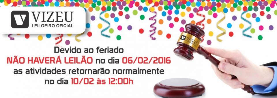 Aviso Carnaval 2016