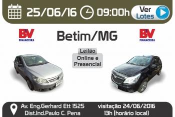LEIL�O EM BETIM - BV E OUTROS - 25/06/2016