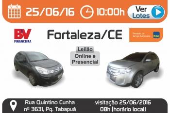 Leil�o de ve�culos em Fortaleza - CE 25/06/2016