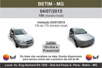 Leileil�o de ve�culos BRF Betim - MG 04/07/2015