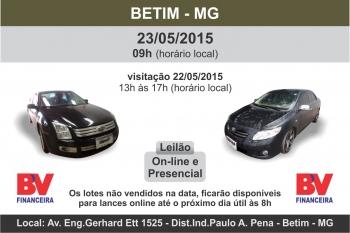 LEIL�O EM BETIM - BV E OUTROS - 23/05/2015