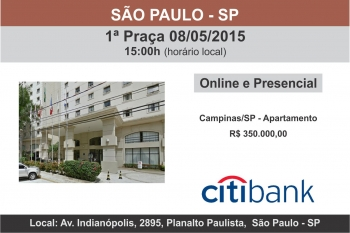 LEIL�O DE IM�VEIS DO BANCO CITIBANK