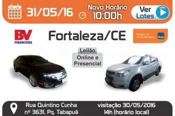 Leil�o de ve�culos em Fortaleza - CE 31/05/2016