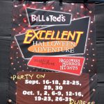 Bill & Ted's Excellent Halloween Adventure show times banner