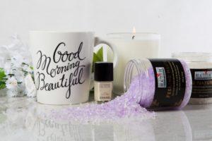 Sel de bain 'Feeling Haute' au parfum de lavande