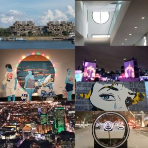 Art, théâtre, musique, architecture, design...un ville riche et haute en couleurs !