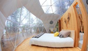 4 endroits au Québec où camper de façon original
