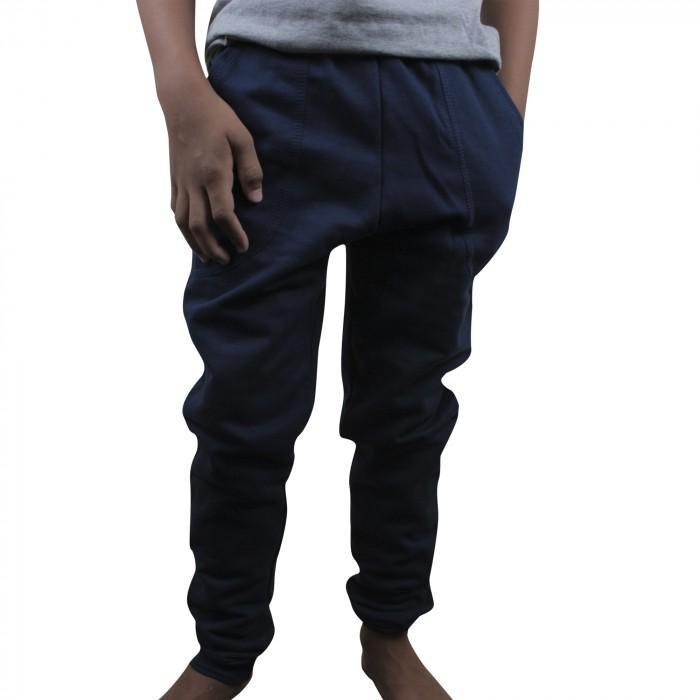 43d4470d9 calça moletom juvenil c 3 bolsos e punhos 10 14 marinho ref