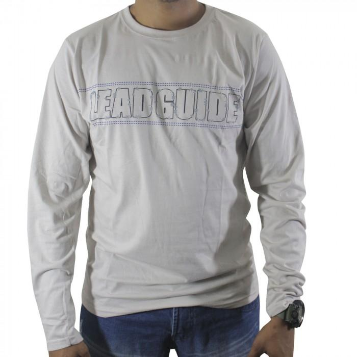 camiseta m/m manga longa p/gg / branco