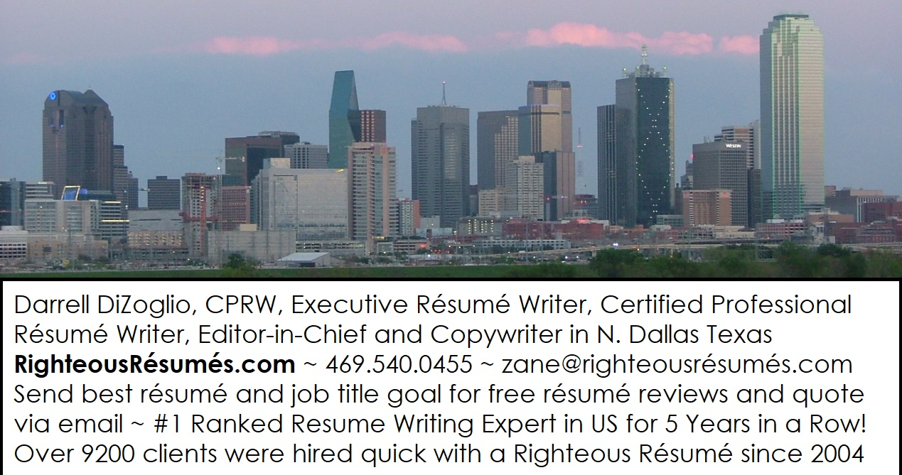 Expert Employment Advice From Those In The Know RRcom_CPRW_Dallas_TX_Biz_Card_2017