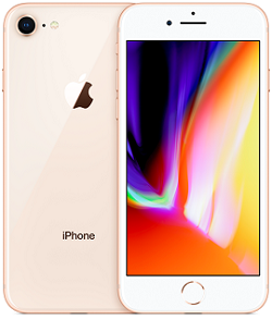 iPhone 8 64GB VZW Gold A Stock