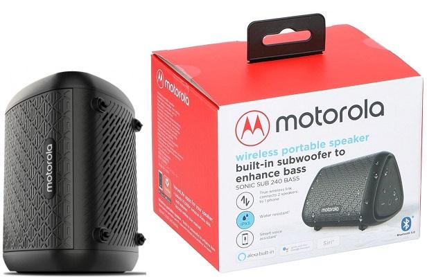 Motorola Speaker Sonic Sub240 Bass Black