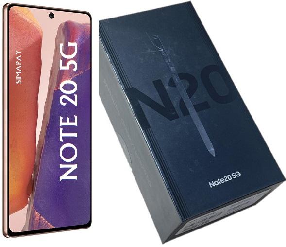 SAM N981u1 NOTE 20 5G 128GB BRONZE CPO