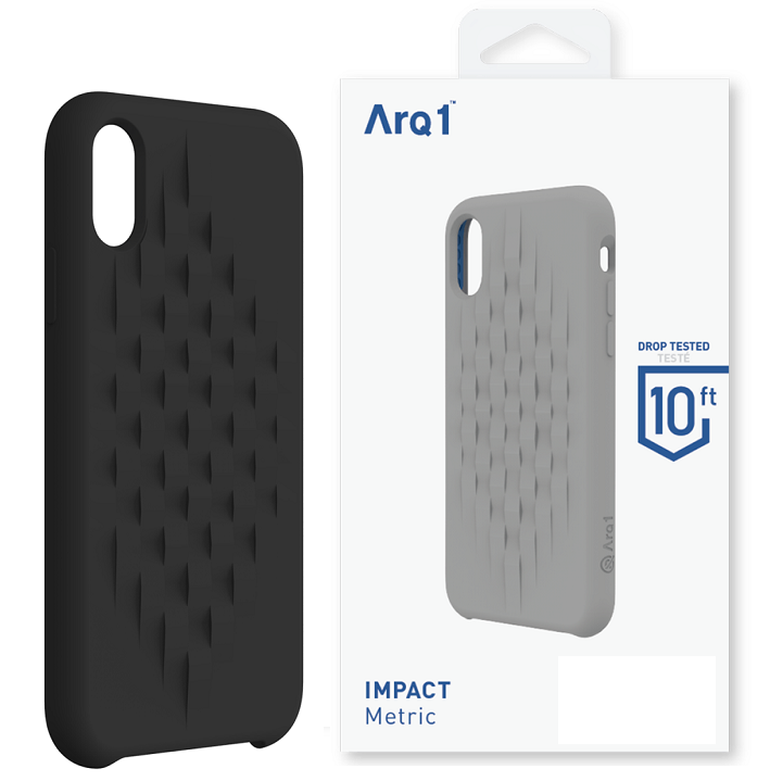 ARQ1 Metric for iPhone XR Case - Black