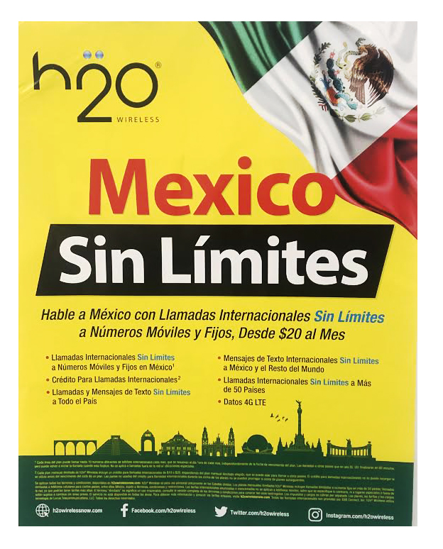 H2O Poster Mexico Sin Limites