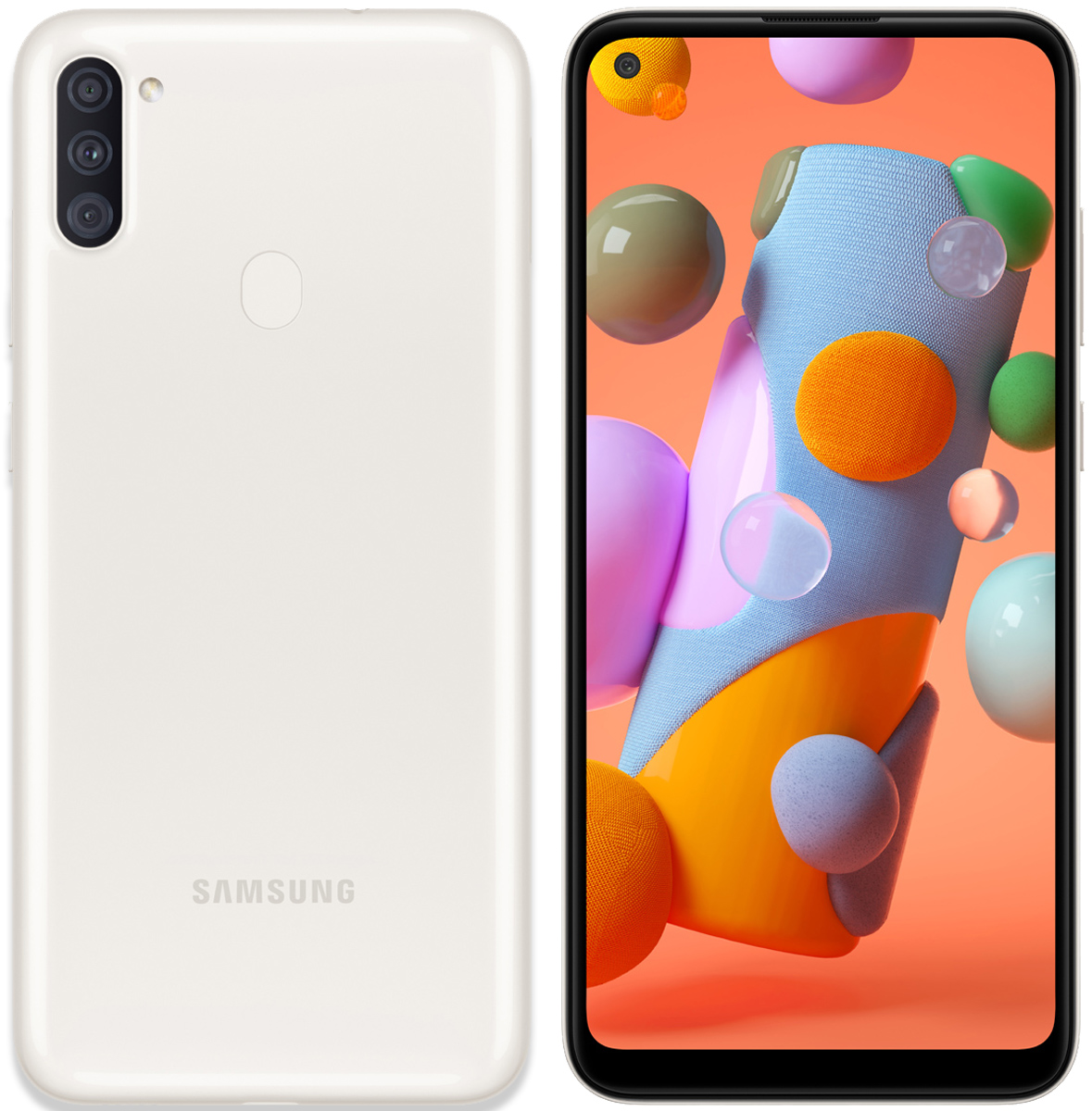 Samsung A11|A115mds 32GB White - New