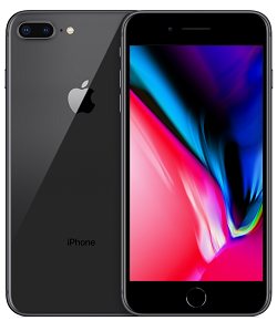 iPhone 8 Plus 64GB Space Gray A Stock