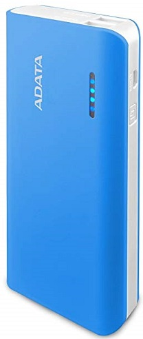 ADATA PT100 Powerbank 10000mAh - Blue/White