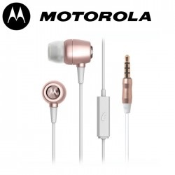 Motorola Pace 200 3.5mm headset RoseGold