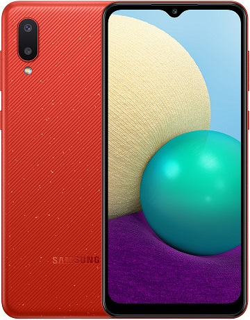 Samsung A02 |A022Mds 64GB Red New
