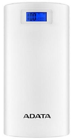 Adata P20000D Portable Power Bank White - New