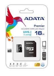 ADATA MicroSD 16GB CL10