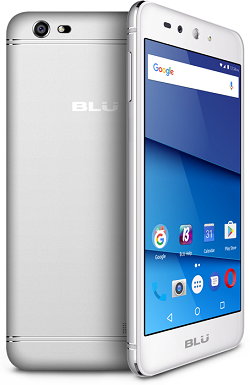 BLU G0030ww 8GB Grand XL Silver - New
