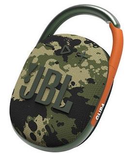 Speaker JBL Clip4 Portable Speaker Squad
