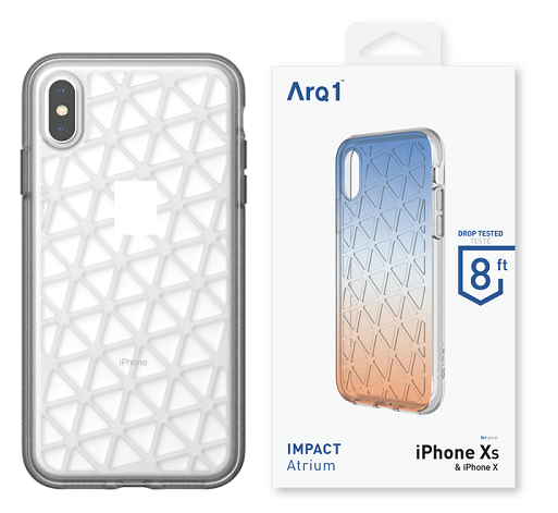 ARQ1 Atrium for iPhone Xs Max Case - Clear