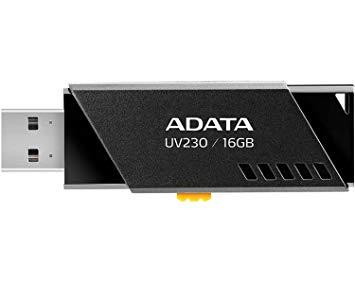 Adata 16GB USB Stick UV230 Black - New