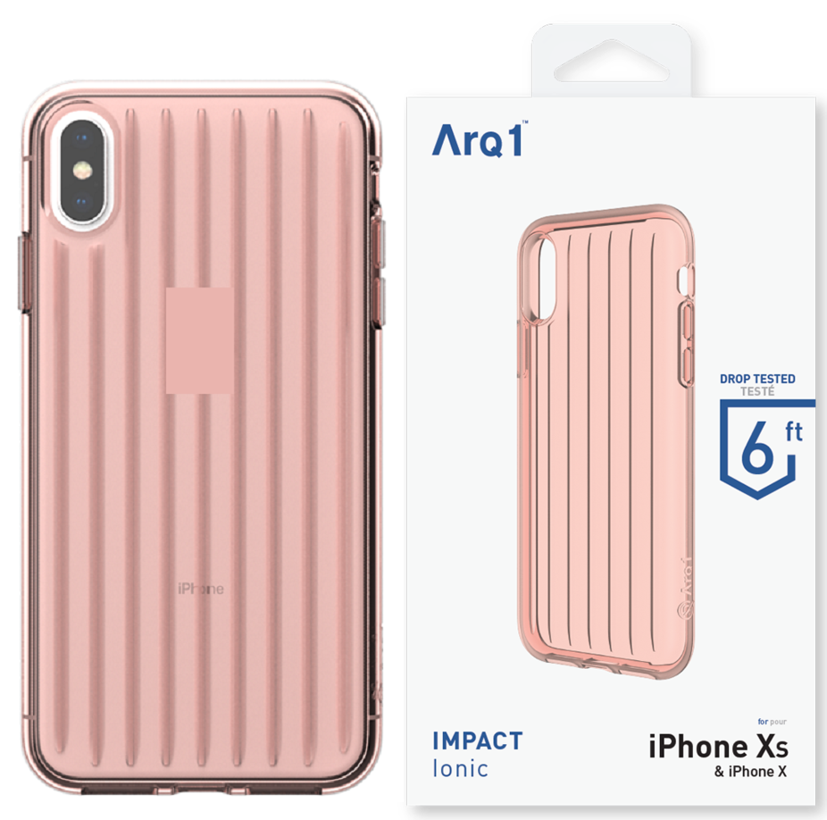 ARQ1 Ionic for iPhone Xs Max Case - Blush