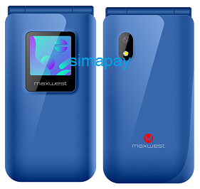 Maxwest Neo Flip LTE Blue New