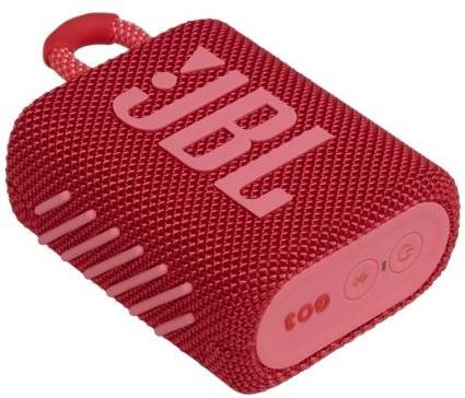 JBL Go3 Portable Speaker Red New