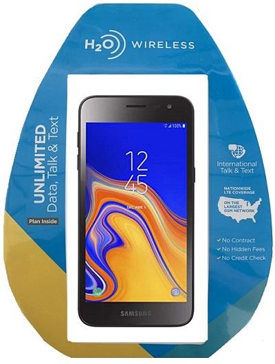H2O Samsung J2 w/ $40 Plan + extra $60 spiff