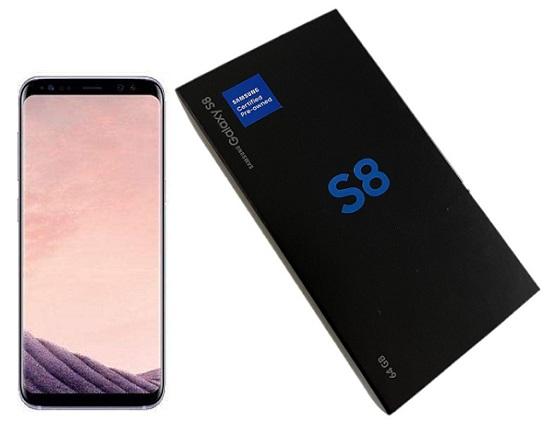 Samsung S8 G950u 64GB Orchid Grey