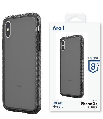 ARQ1 Mosaic for iPhone X/Xs Case - Smoke