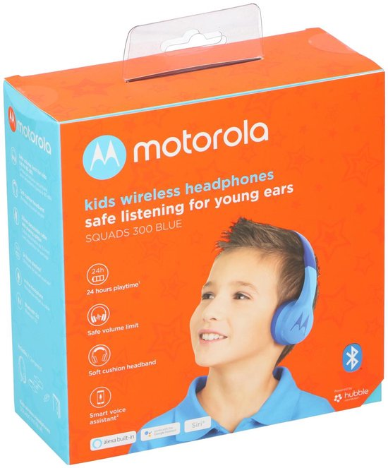 Motorola Squads 300 Kids Bluetooth Blue