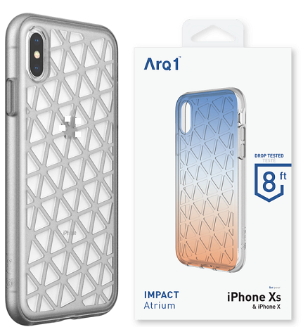 ARQ1 Atrium for iPhone X/Xs Case - Smoke