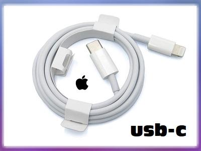 Apple OEM Lightning to TypeC USB Cable - 1m