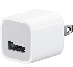 Generic Apple Wall Charger - White