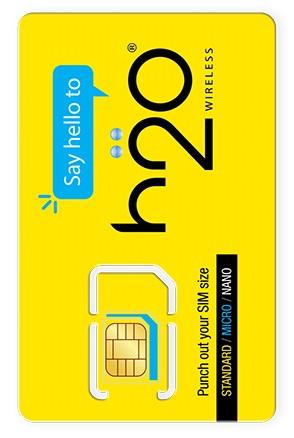 H2O Wireless Smart Triple SIM